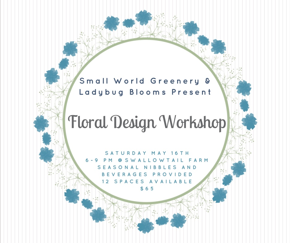 Small World Greenery & Ladybug Blooms-3